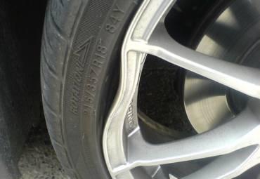 Bent Wheel Repair